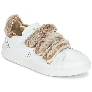Shoes Women Low top trainers Ippon Vintage FLIGHT POLAR White / Coppery