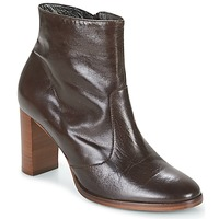 Shoes Women Ankle boots France Mode AKIM Brown