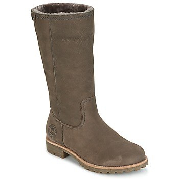 Shoes Women Boots Panama Jack BAMBINA Grey