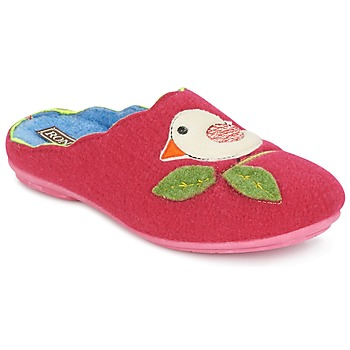 Shoes Women Slippers Rondinaud RESTONICA Fuschia