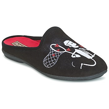 Shoes Women Slippers Rondinaud YONNE Black