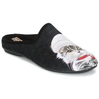 Shoes Women Slippers Rondinaud MOSELOTTE Black