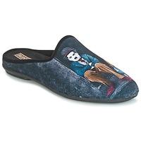 Shoes Men Slippers Rondinaud CHERAN Black