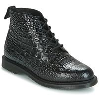 Shoes Women Mid boots Dr Martens EMMELINE Black