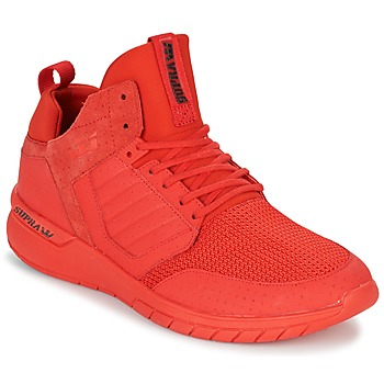 Shoes Men Low top trainers Supra METHOD Red