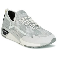 Shoes Men Low top trainers Diesel S-KBY Grey