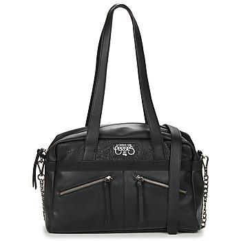 Bags Women Shoulder bags Le Temps des Cerises PURE 2 Black