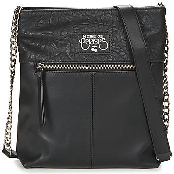 Bags Women Shoulder bags Le Temps des Cerises PURE 6 Black