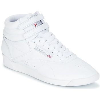Shoes Women High top trainers Reebok Classic F/S HI White / Silver