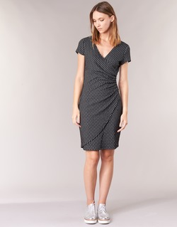 material Women Short Dresses Smash AVELINA Black