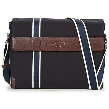 Bags Men Messenger bags Le Tanneur TOM Blue