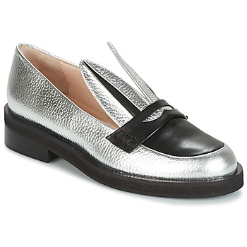 Shoes Women Loafers Minna Parikka LONG EARS Silver
