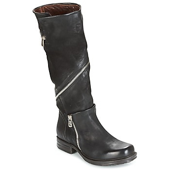 Shoes Women Boots Airstep / A.S.98 SAINT EC ZIP Black