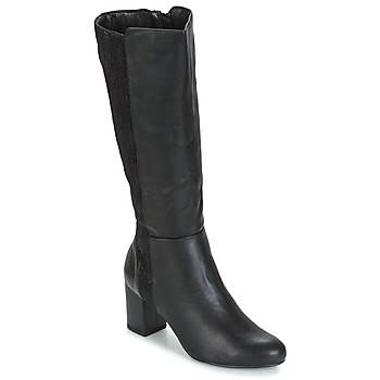 Shoes Women Boots Moony Mood GINA Black