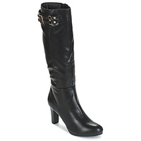 Shoes Women Boots Moony Mood GEORGIA Black