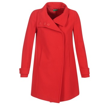 material Women coats Benetton MERCRA Red