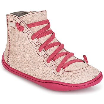 Shoes Girl High top trainers Camper PEU CAMI Pink