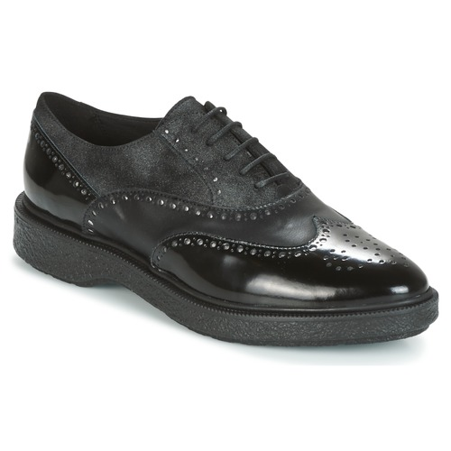 Shoes Women Derby shoes Geox D PRESTYN Black