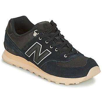 Shoes Low top trainers New Balance ML574 Black