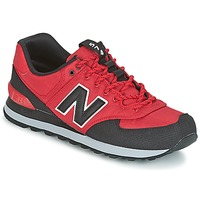 Shoes Men Low top trainers New Balance ML574 Red