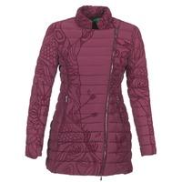 material Women Duffel coats Desigual GIORDO Bordeaux