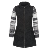 material Women coats Desigual GRAME Black