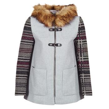 material Women coats Desigual GERDI Grey