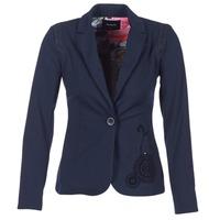 material Women Jackets / Blazers Desigual GROFA Marine
