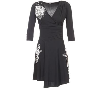 material Women Short Dresses Desigual GRAFU Black
