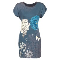 material Women Short Dresses Desigual MARTI Blue