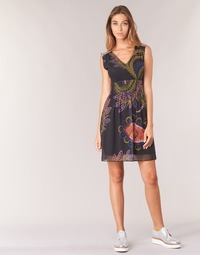 material Women Short Dresses Desigual GERCO Multicoloured