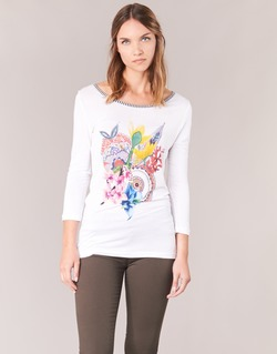 material Women Long sleeved shirts Desigual TERON White