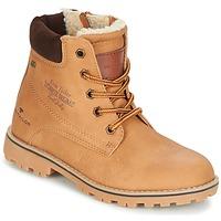 Shoes Boy Mid boots Tom Tailor JOLUI Camel
