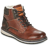 Shoes Men Mid boots Tom Tailor LORENZA Brown