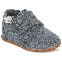 Shoes Children Slippers Giesswein OBERSTAUFFEN Grey