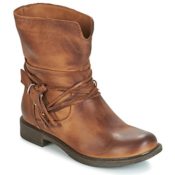Shoes Women Mid boots Sweet Lemon PYOBA Cognac