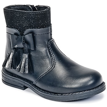 Shoes Girl Mid boots Citrouille et Compagnie HEYLI Black