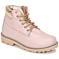 Shoes Girl Mid boots Citrouille et Compagnie HICHOU Pink
