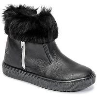 Shoes Girl Mid boots Citrouille et Compagnie HOUPI Black