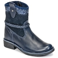 Shoes Girl Mid boots Citrouille et Compagnie HAYO Blue