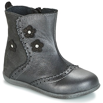 Shoes Girl Mid boots Citrouille et Compagnie HOPETTE Grey