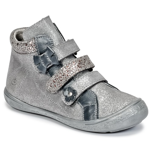 Shoes Girl High top trainers Citrouille et Compagnie FALIE Grey