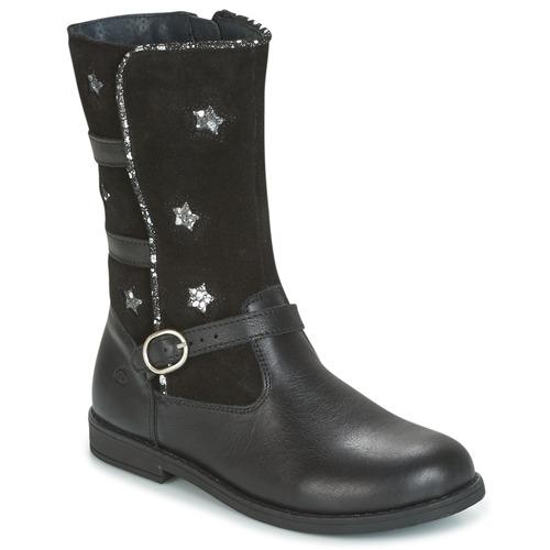 Shoes Girl Boots Citrouille et Compagnie HANDRE Black