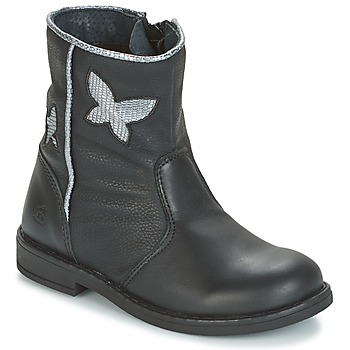 Shoes Girl Mid boots Citrouille et Compagnie HORELI Black
