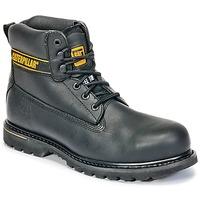 Shoes Men safety shoes Caterpillar HOLTON ST SB Black