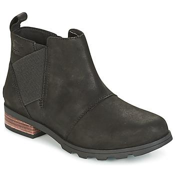 Shoes Women Snow boots Sorel EMELIE CHELSEA Black