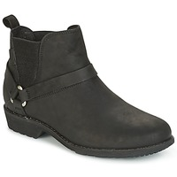 Shoes Women Mid boots Teva DE LA VINA DOS CHELSEA Black