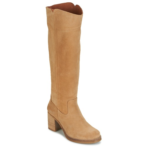 Shoes Women Boots Casual Attitude HAPI Beige