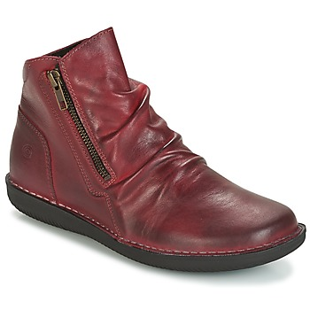 Shoes Women Mid boots Casual Attitude HERMINA Bordeaux