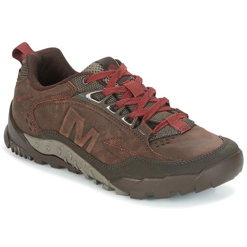 Shoes Men Hiking shoes Merrell ANNEX TRAK LOW Brown